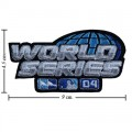 World Series 2004 Embroidered Sew On Patch
