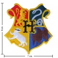 Harry Potter Hogwarts School Style-1 Embroidered Sew On Patch