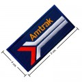 Amtrak Train Style-2 Embroidered Sew On Patch