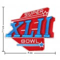 Super Bowl XLII 2007 Style-42 Embroidered Sew On Patch