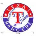 Texas Rangers Style-1 Embroidered Iron On/Sew On Patch