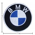 BMW Motorsport Style-2 Embroidered Sew On Patch