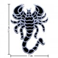 Scorpion Sign Style-1 Embroidered Sew On Patch