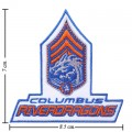 Columbus Riverdragons The Past Style-1 Embroidered Sew On Patch