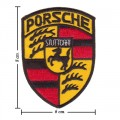 Porsche Style-2 Embroidered Sew On Patch
