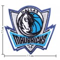 Dallas Mavericks Style-1 Embroidered Sew On Patch