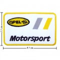 OPEL Motorsport Style-1 Embroidered Sew On Patch