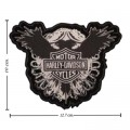 Harley Davidson Crest Patches Embroidered Sew On Patch