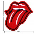 Rolling Stone Music Band Style-1 Embroidered Sew On Patch