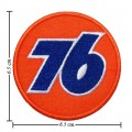 76 Oil Style-1 Embroidered Sew On Patch