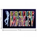 Bob Marley A Reggae Ska Band Style-10 Embroidered Sew On Patch