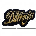 The Darkness Music Band Style-1 Embroidered Sew On Patch