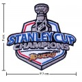 Anaheim Mighty Ducks Stanley Cup Style-1 Embroidered Sew On Patch