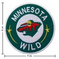 Minnesota Wild Style-2 Embroidered Sew On Patch