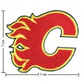 Calgary Flames Style-1 Embroidered Sew On Patch