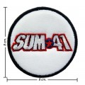 Sum 41 Music Band Style-1 Embroidered Sew On Patch