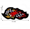 Wild Woody Woodpecker Style-2 Embroidered Sew On Patch