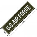 US Air Force Army Embroidered Sew On Patch