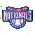 Washington Nationals Style-1 Embroidered Sew On Patch