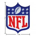 National Football Leagues NFL Style-3 Embroidered Iron On/Sew On Patch