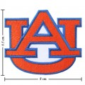Auburn Tigers Style-1 Embroidered Iron On/Sew On Patch