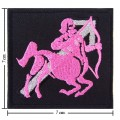 Roman Zodiac Sagittarius Embroidered Sew On Patch