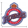 Montreal Royales Style-1 Embroidered Iron On/Sew On Patch