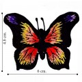 Butterfly Style-4 Embroidered Sew On Patch