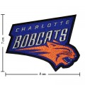 Charlotte Bobcats Style-1 Embroidered Sew On Patch