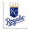 Kansas City Royals Style-1 Embroidered Sew On Patch