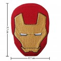 Iron Man Iron Style-1 Embroidered Sew On Patch