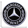 Mercedes Benz Style-2 Embroidered Sew On Patch