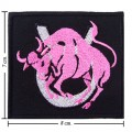 Roman Zodiac Taurus Embroidered Sew On Patch