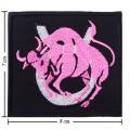 Roman Zodiac Taurus Embroidered Sew On Patch