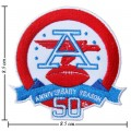 NFL 50th Anniversary Season Embroidered Iron On/Sew On Patch