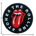 Rolling Stone Music Band Style-3 Embroidered Sew On Patch