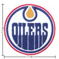 Edmonton Oilers Style-1 Embroidered Sew On Patch