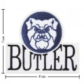 Butler Bulldogs Style-1 Embroidered Iron On/Sew On Patch