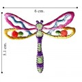 Dragonfly Style-2 Embroidered Sew On Patch