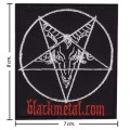 Black Metal Music Band Style-1 Embroidered Sew On Patch