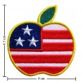 Apple New York Style-1 Embroidered Sew On Patch