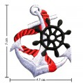 Anchor Style-6 Embroidered Sew On Patch