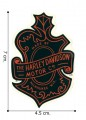 Harley Davidson Motor Embroidered Sew On Patch