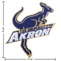 Akron Zips Style-1 Embroidered Iron On/Sew On Patch