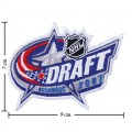 NHL Draft 2006-2007 Embroidered Sew On Patch