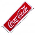 Coca Cola Coke Style-7 Embroidered Sew On Patch