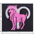 Roman Zodiac Aries Embroidered Sew On Patch