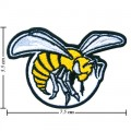 Alabama State Hornets Style-1 Embroidered Iron On/Sew On Patch