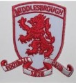 Middlesbrough Style-1 Embroidered Sew On Patch