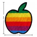 Apple New York Style-2 Embroidered Sew On Patch